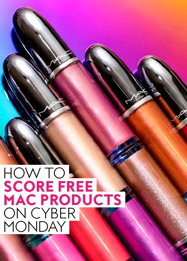 Here's How You Score Free MAC Products on Cyber Monday