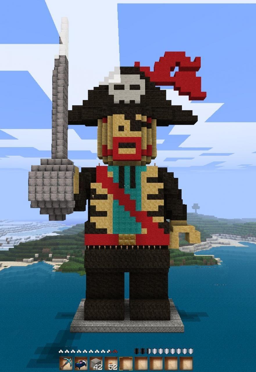 майнкрафт пираты #2