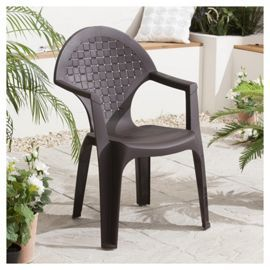 Tesco Direct Dream Resin Garden Chair Wengue
