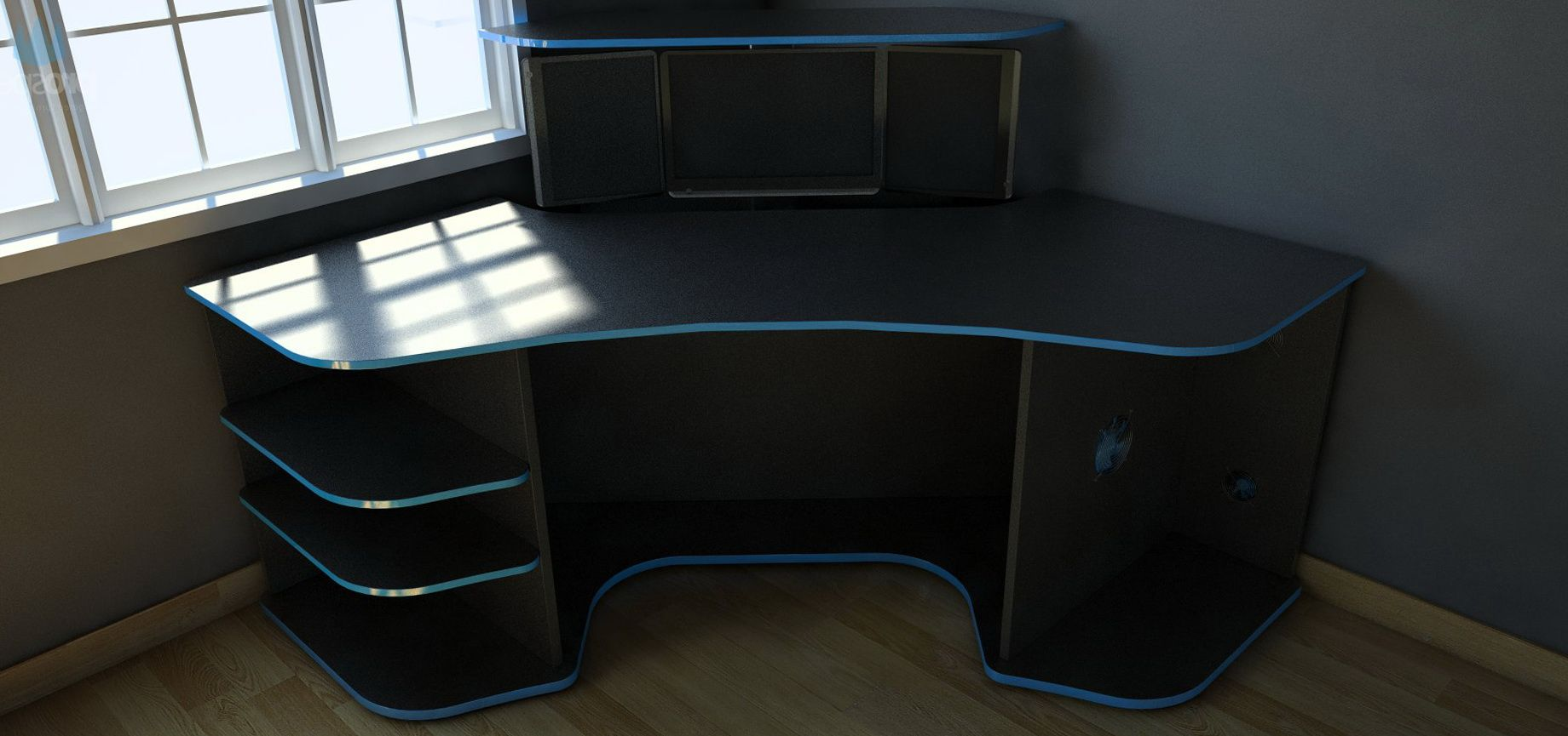gaming desk Paragon Gaming Desk Price (With images
