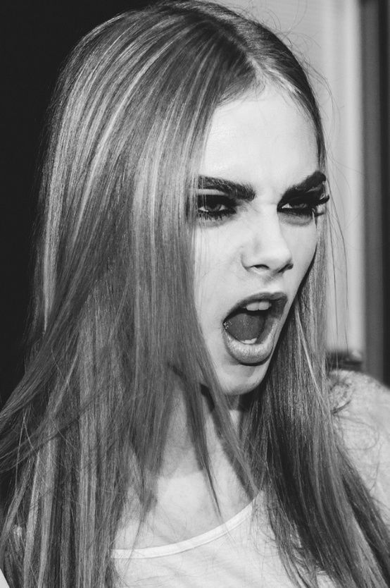Cara delevigne... coolest model of all time