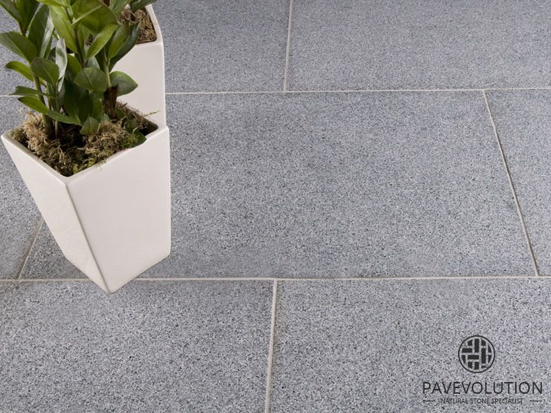 Pavevolution Indian sandstone, slate \ granite paving slabs - steingarten mit granit