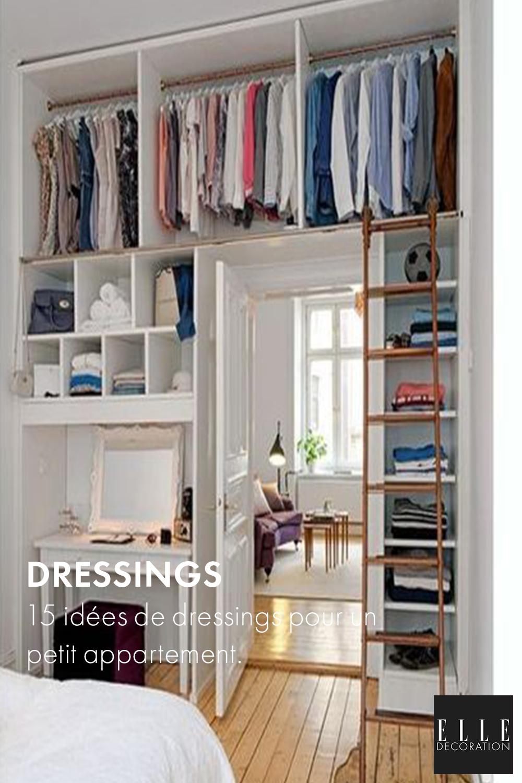 19 idées de dressings pour un petit appartement - Elle Décoration
