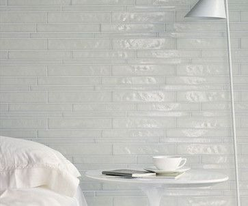Statements Tile - Vetro Bianco Sfalsato contemporary
