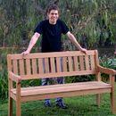 How to Make an Oak Garden Bench