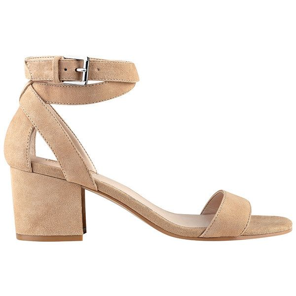 67fb091ca9af GUESS Eva Sandals ( 79) ❤ liked on Polyvore featuring shoes ...