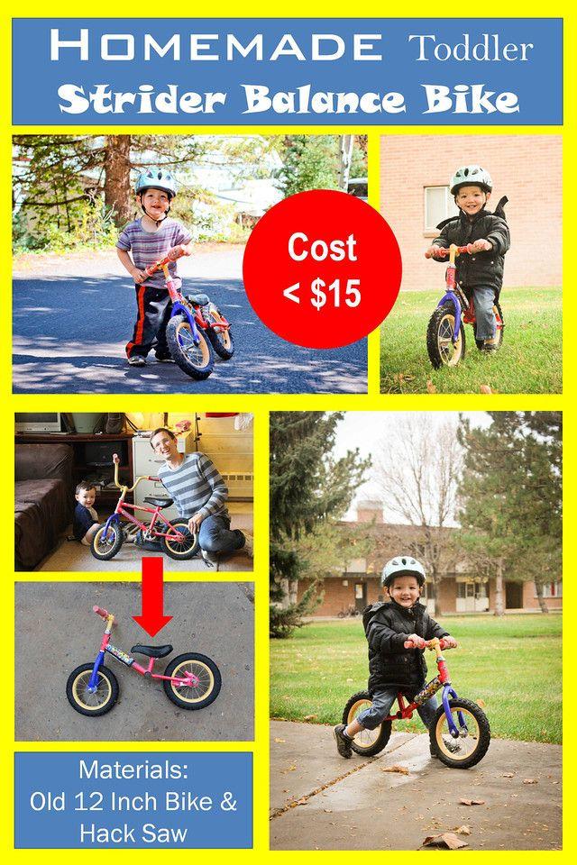 Inspired Diy Toddler Strider Balance Bike Balance Bike Diy