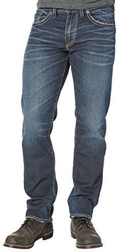 Silver Jeans Men's Co Eddie Relaxed Fit Tapered Leg