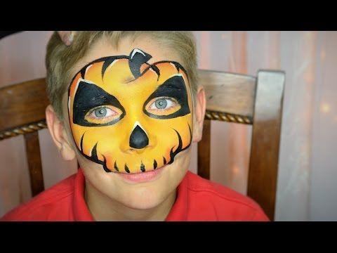 easy skull face painting / makeup  youtube  skull face