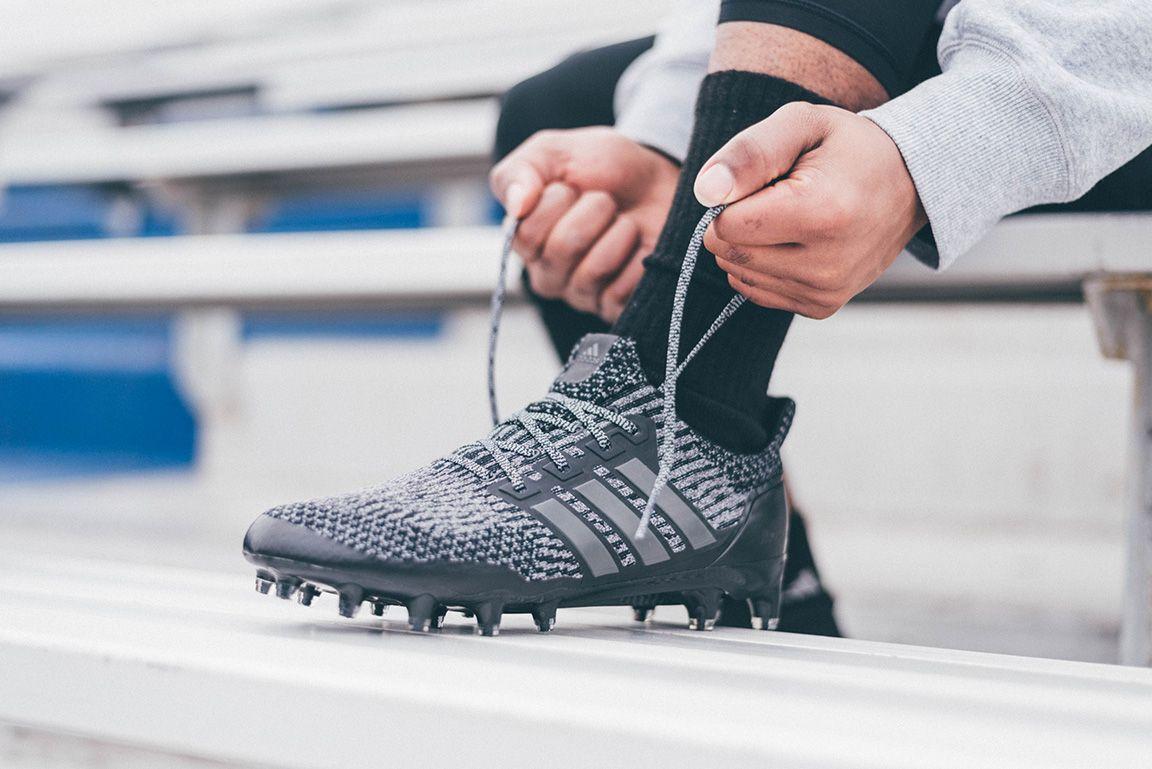 1fac5c312de adidas UltraBOOST Cleat  Triple Black  On-Foot   On-Turf - EU Kicks   Sneaker Magazine