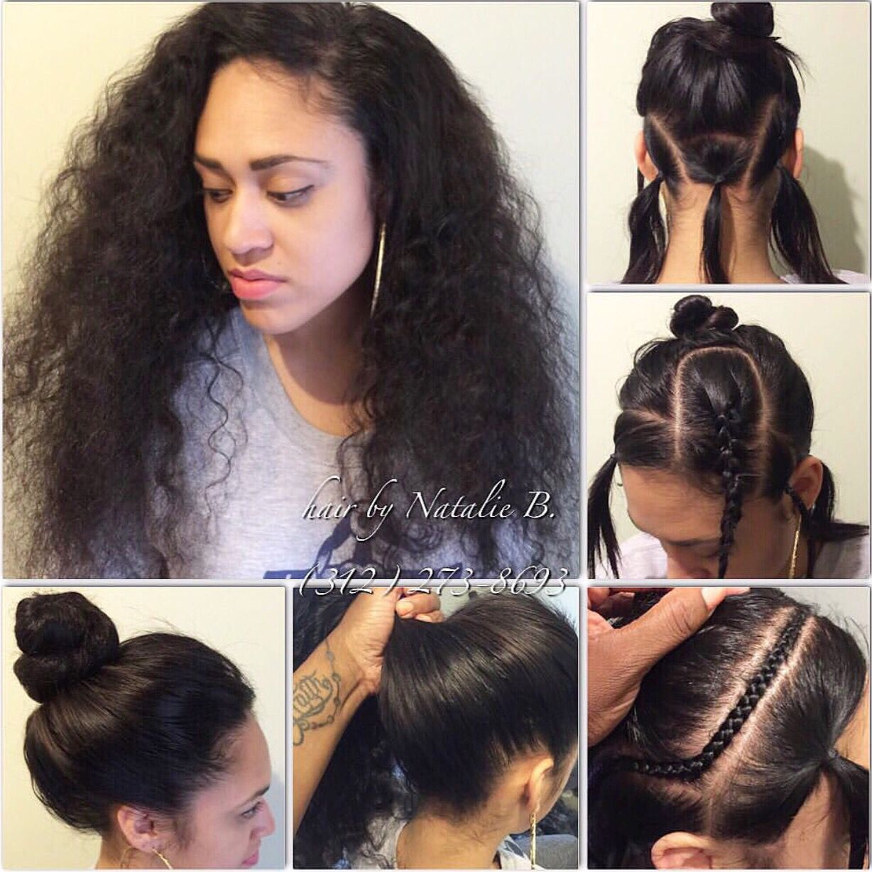 want to wear your hair in a high ponytail or bun??? no problem