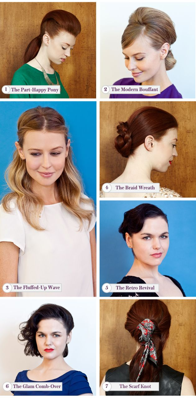 Party hairstyles how to do easy hairdos for parties pinterest