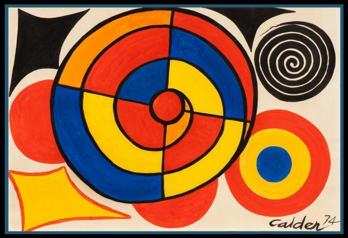 Alexander Calder - Segmented Spiral 1974 - Frieze London | Alexander calder, Saatchi gallery, Art