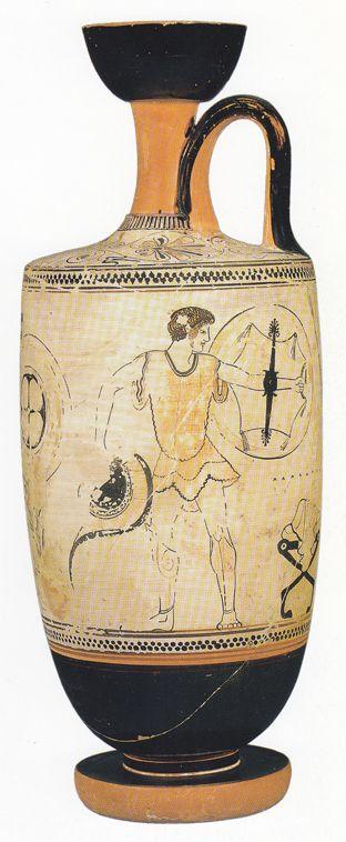 Attic White Ground Lekythos Ancient Greek Art Ancient Greek Pottery Greek Pottery