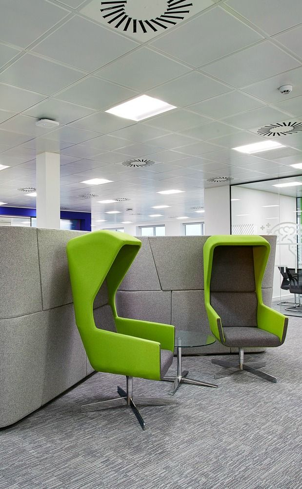 Individual Seating Pods Cool Office Furniture Step Out Of The Meeting Room And