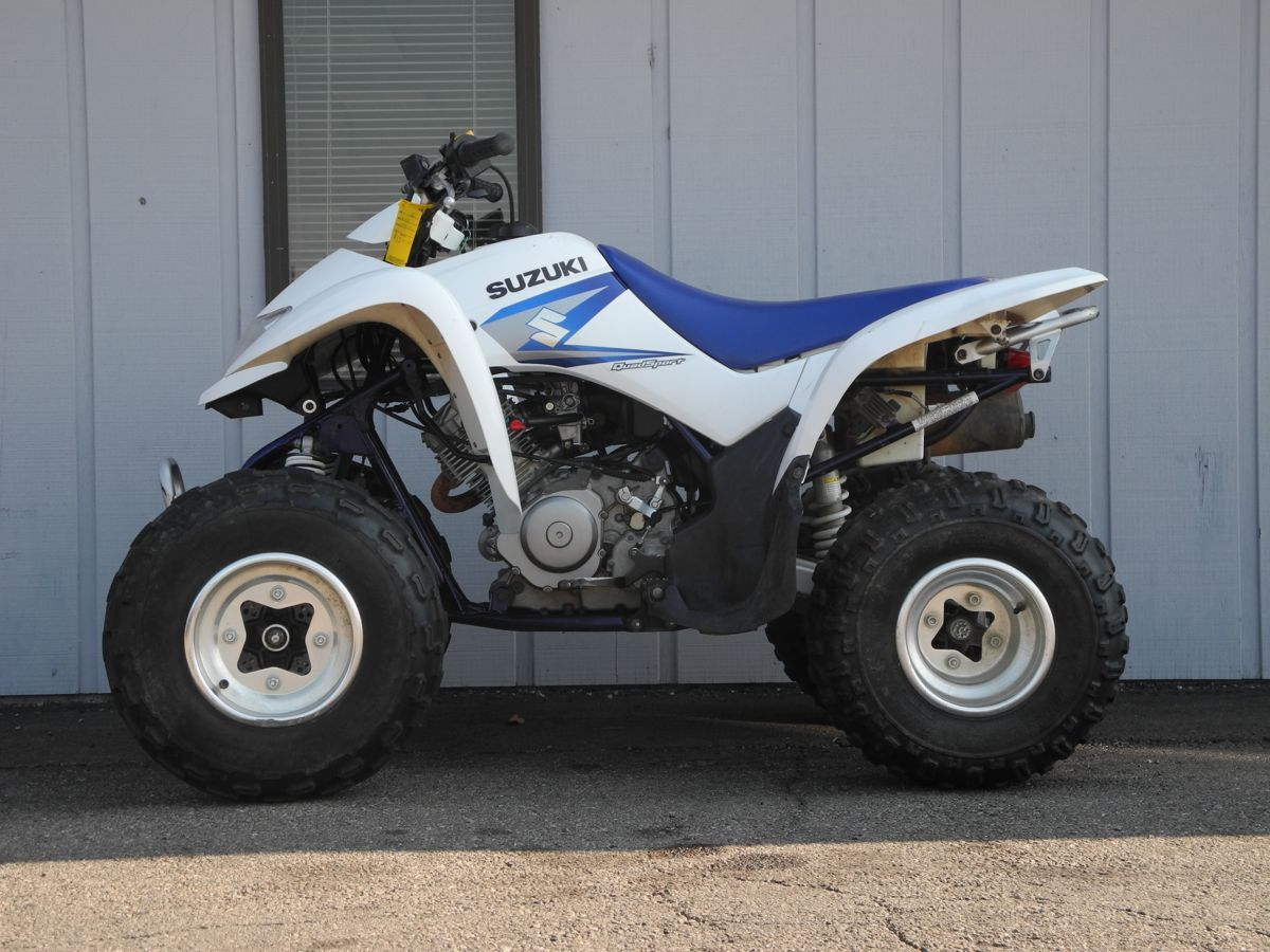 This 2005 Suzuki Ltz250 Quadsport Atv Is Perfect For Smaller Younger Or Newer Riders That Want Something Zippy But Easy To Ride It F Reverse Gear Suzuki Atv