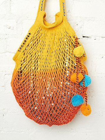 Shimmering Beach Bag - $98.00