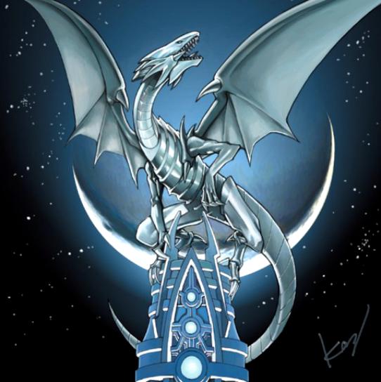 Blue Eyes White Dragon Yugioh Dragons White Dragon Yugioh Monsters
