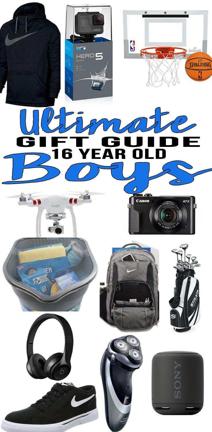 BEST Gifts 16 Year Old Boys Top Gift Ideas That Yr Will Love Find Presents Suggestions For A 16th Birthday Christmas Or Just