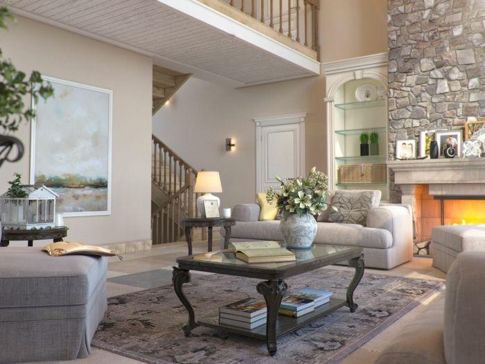 Wohnzimmer Taupe ~ Schiebetür zwischen küche und wohnzimmer aus holz oder glas