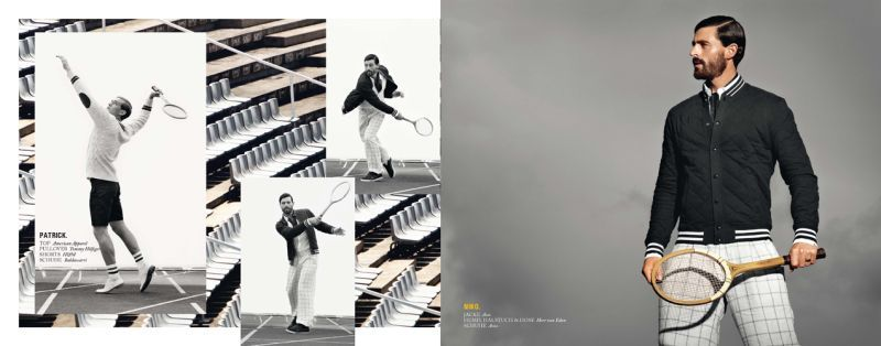 Kult Models Prove to be Quite the Athletes for Kult Paper #3