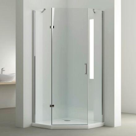 cabine de douche pentagonale 80x80 ou 90x90cm penta en 2020 cabine de douche douche angle