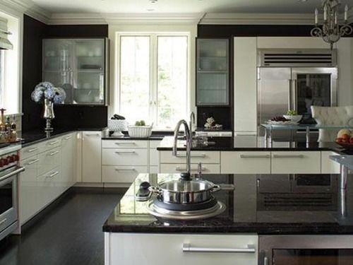 White Silver Kitchen Ideas کیلئے تصویری نتیجہ Kitchen Ideas