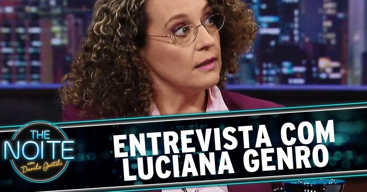 Bravo Luciana ! :-) The Noite (15/09/14) - Entrevista com Luciana Genro