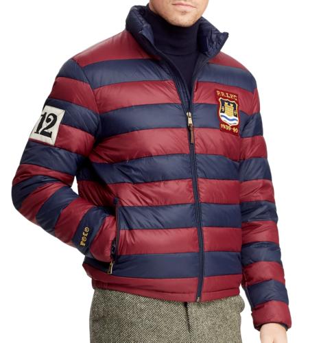 großer Rabatt präsentieren Farben und auffällig Polo Ralph Lauren Men Crest Patch Royal Preppy Rugby Varsity ...
