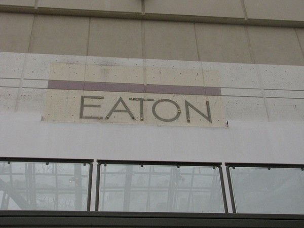 Image of the Moment: Eaton's at Rideau - The last remnant - Spacing Ottawa