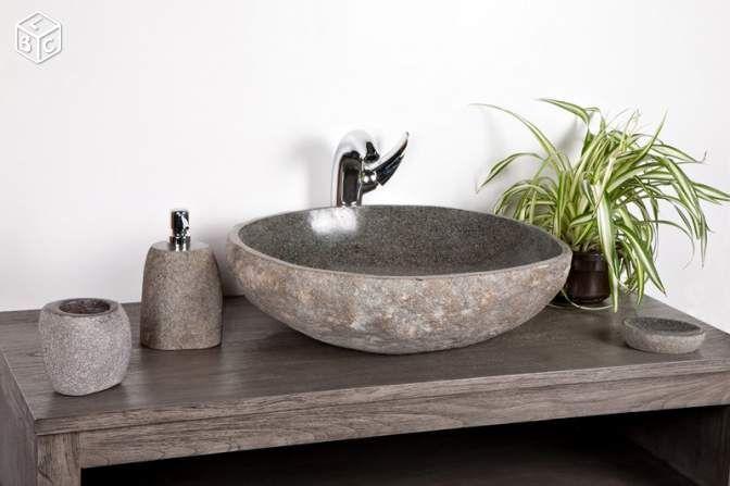 Vasque en pierre salle de bain modèle unique n°627 truck a