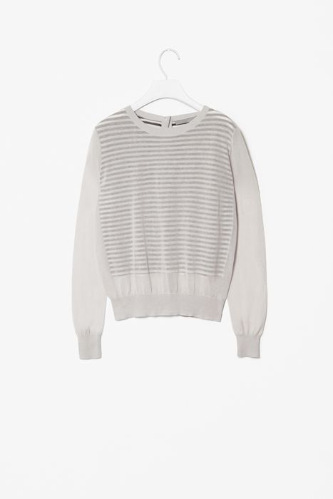 Sheer panel jumper by Cos