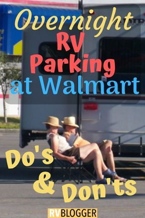 Overnight RV Parking At Walmart - Know Before You Go – RVBlogger
