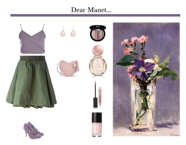 """""""Manet"""" by happy-go-lucky-668 ❤ liked on Polyvore featuring Moncler, Boohoo, Edward Bess, Bulgari, Burberry, fashionset, polyvoreeditorial and polyvorefashion"""