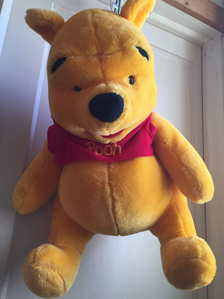 """Jumbo Winnie The Pooh plush toy stuffed animal Pooh bear 22"""""""