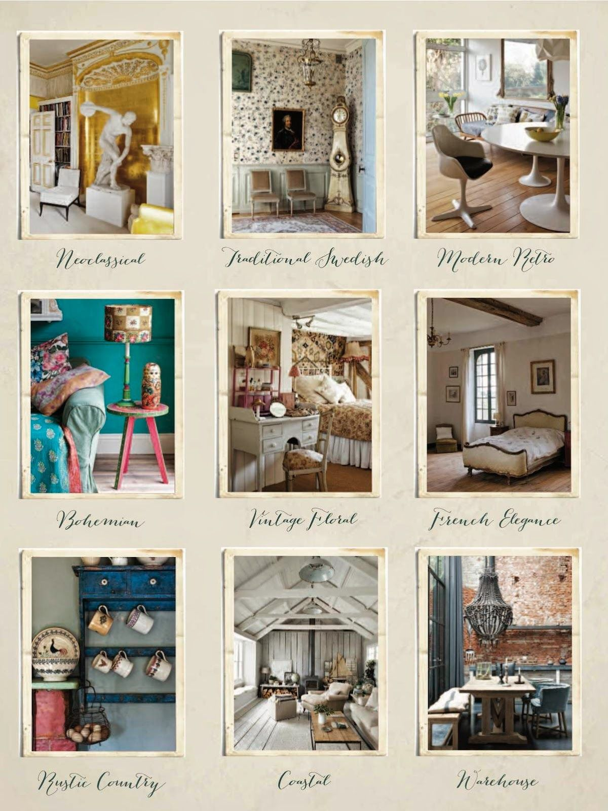 Inspiring design styles featured in Annie Sloan\'s new book - Room ...