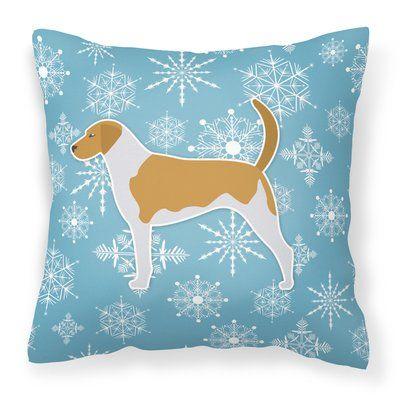 Carolines Treasures Portuguese Water Dog Winter Snowflakes Holiday Wall or Door Hanging Prints Multicolor 16 x 12
