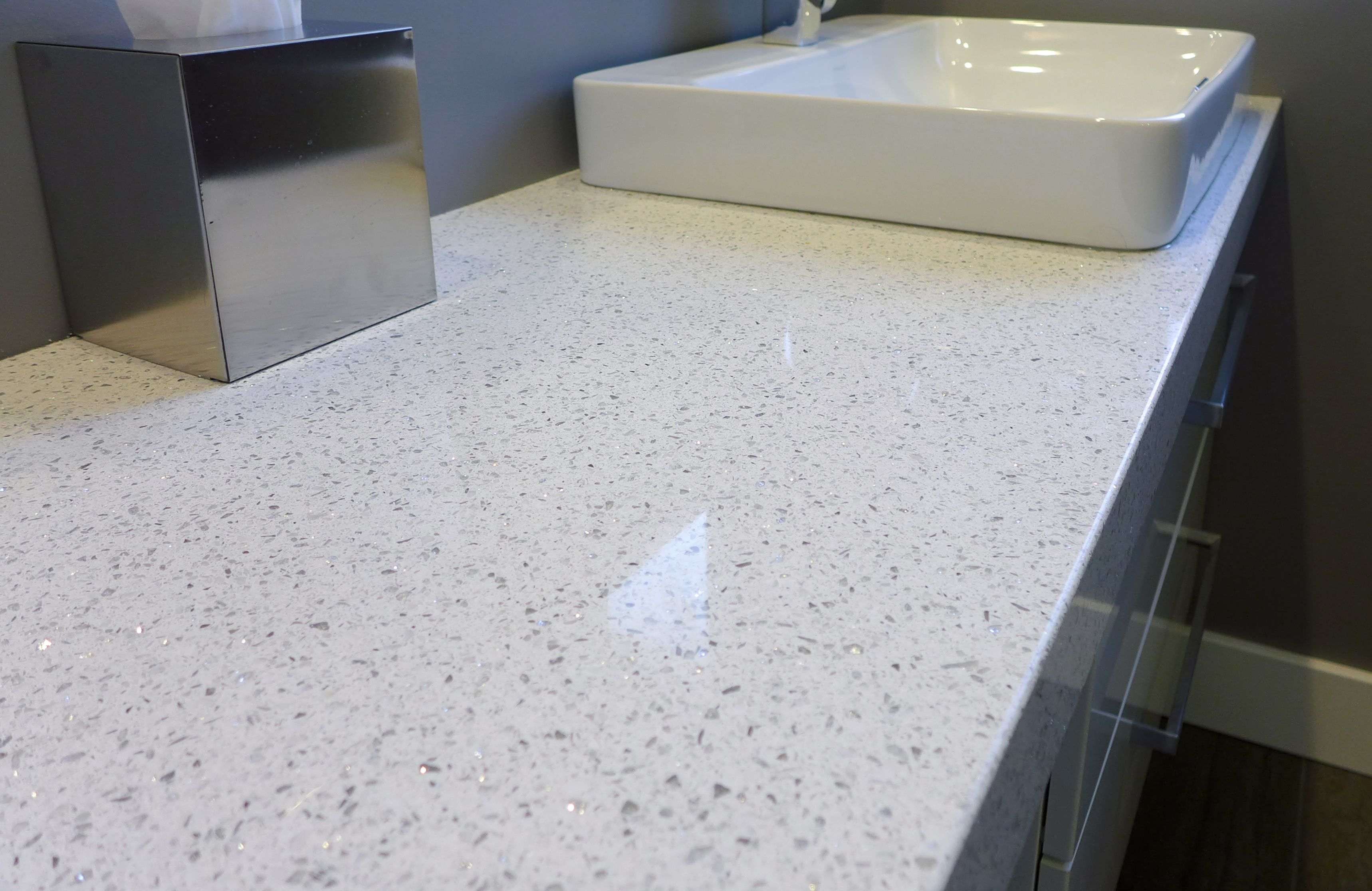 Salt Lake City Countertops Whitney Cambria Quartz Bathroom Countertop Accent