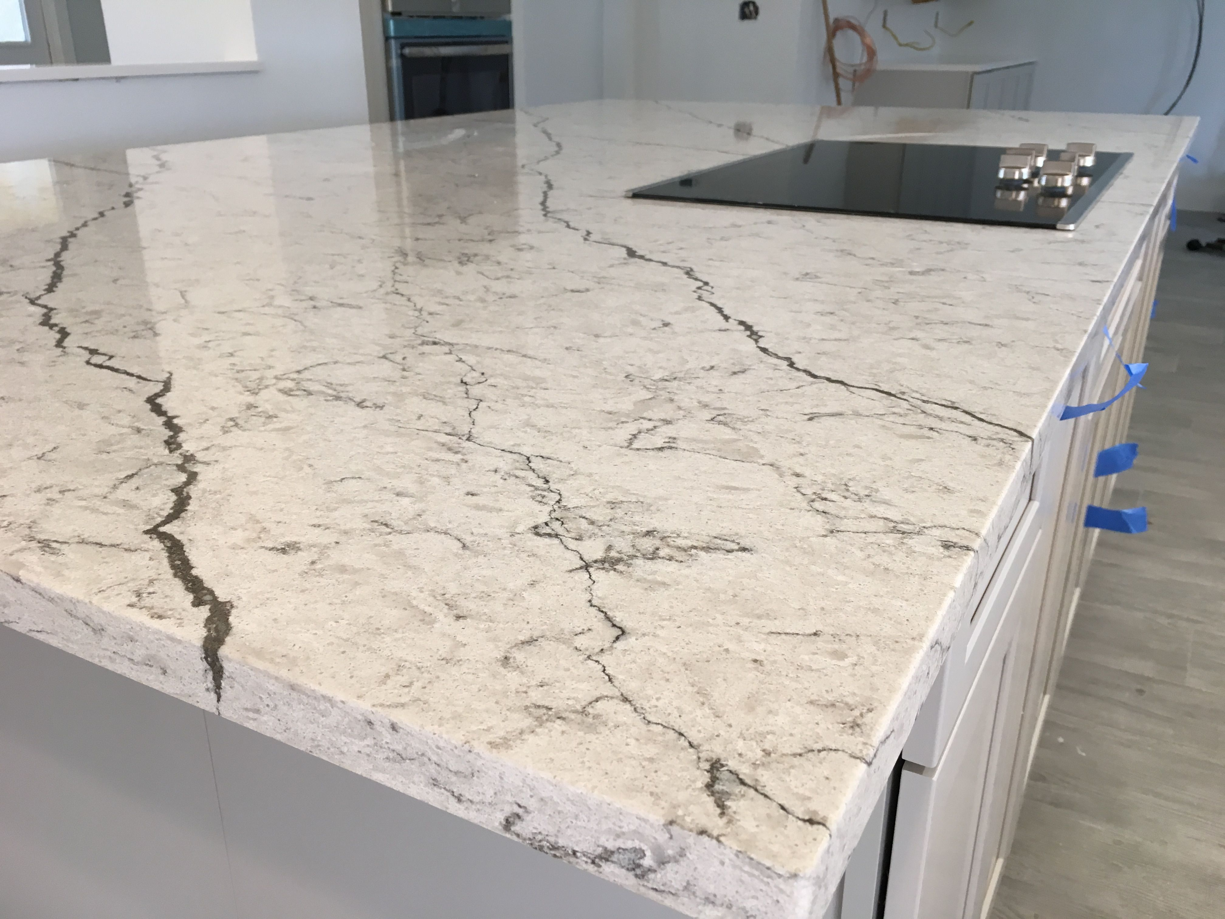 Diamante Pompeii Quartz Countertop