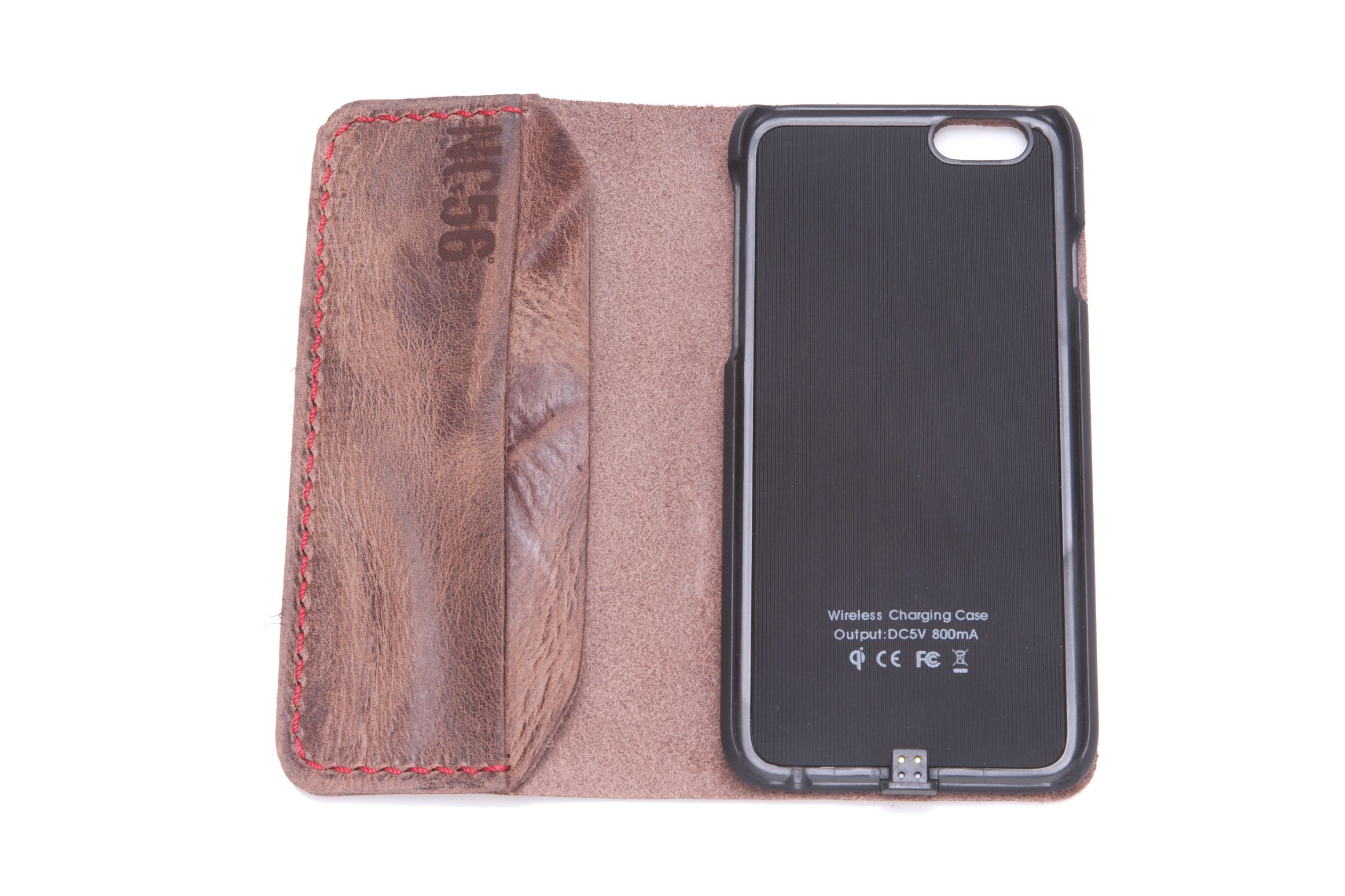 Wireless Charging Station Iphone 6 Leather Case Lederhulle Fur Iphone 6 Ladestation Fur Iphone 6 Lederhulle Iphone 6 Iphone