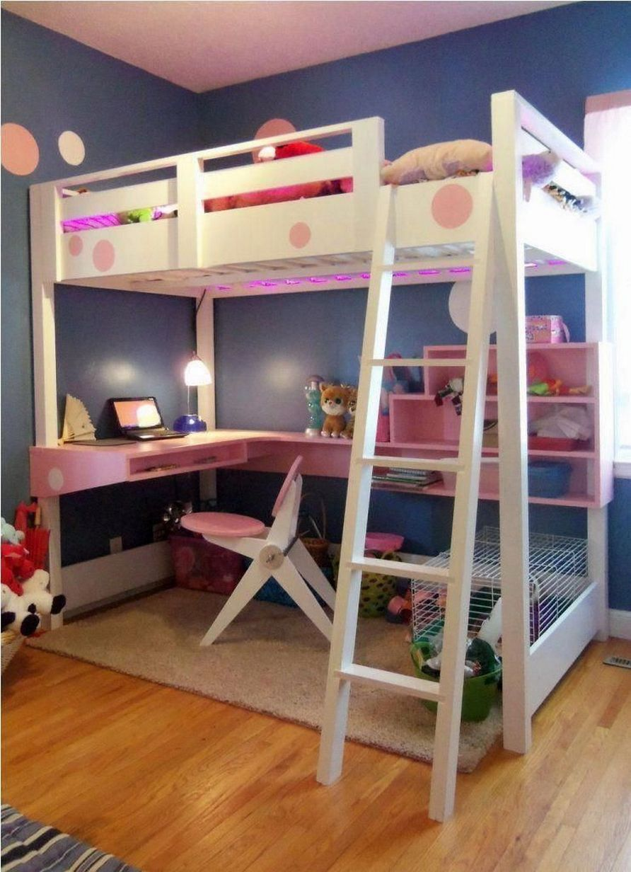 34 Bunk Bed Design Ideas With the Most Enthusiastic Desk In Interest
