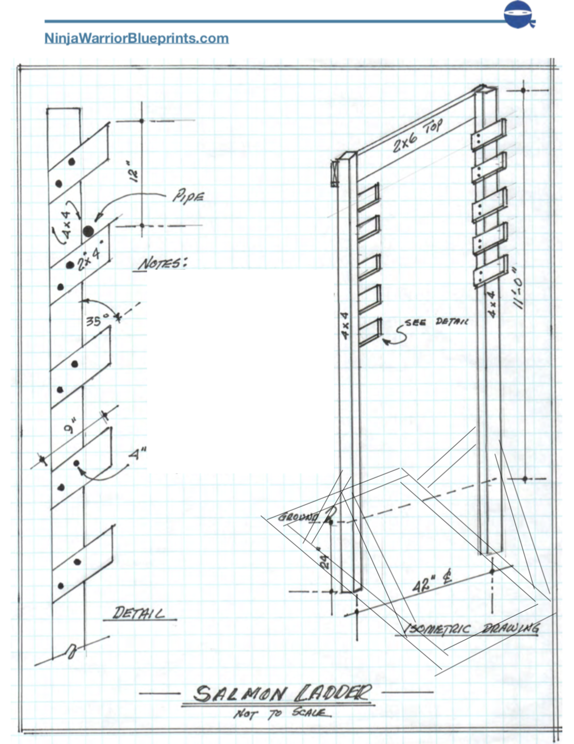 These Free Salmon Ladder Plans Come Complete With A