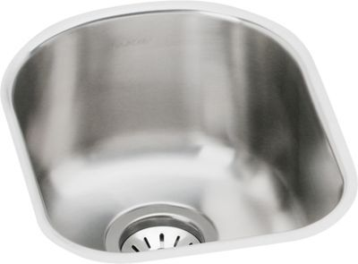 Elkay Harmony Elumina Stainless Steel Single Bowl Undermount Sink Kit Eguh1317dbg Stainless Steel Kitchen Sink Elkay Stainless Steel Kitchen