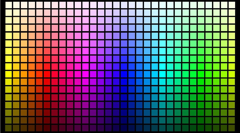 Color chart rainbow - Cmyk To Rgb Colour Converter