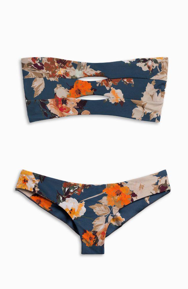 MIDNIGHT  B L U E S || Abetting Ava Bikini Top + Kiki the Killer Bikini Bottoms