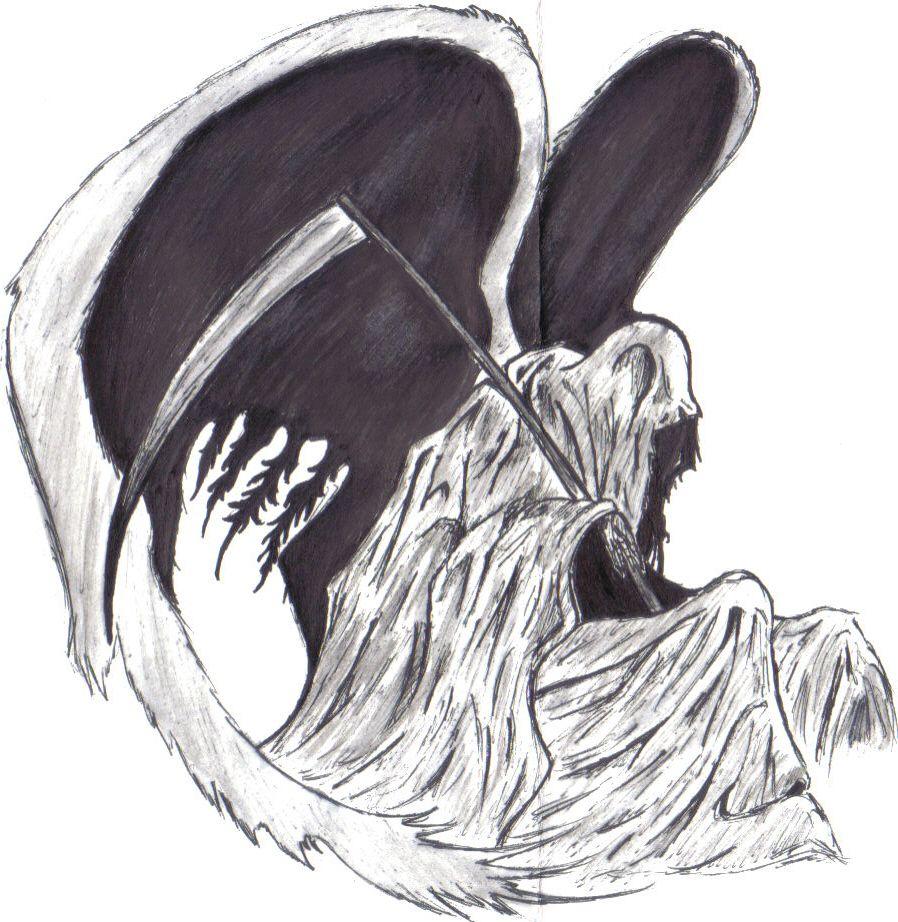 Grim Reaper Grim Reaper Grim Reaper Drawing Reaper Drawing