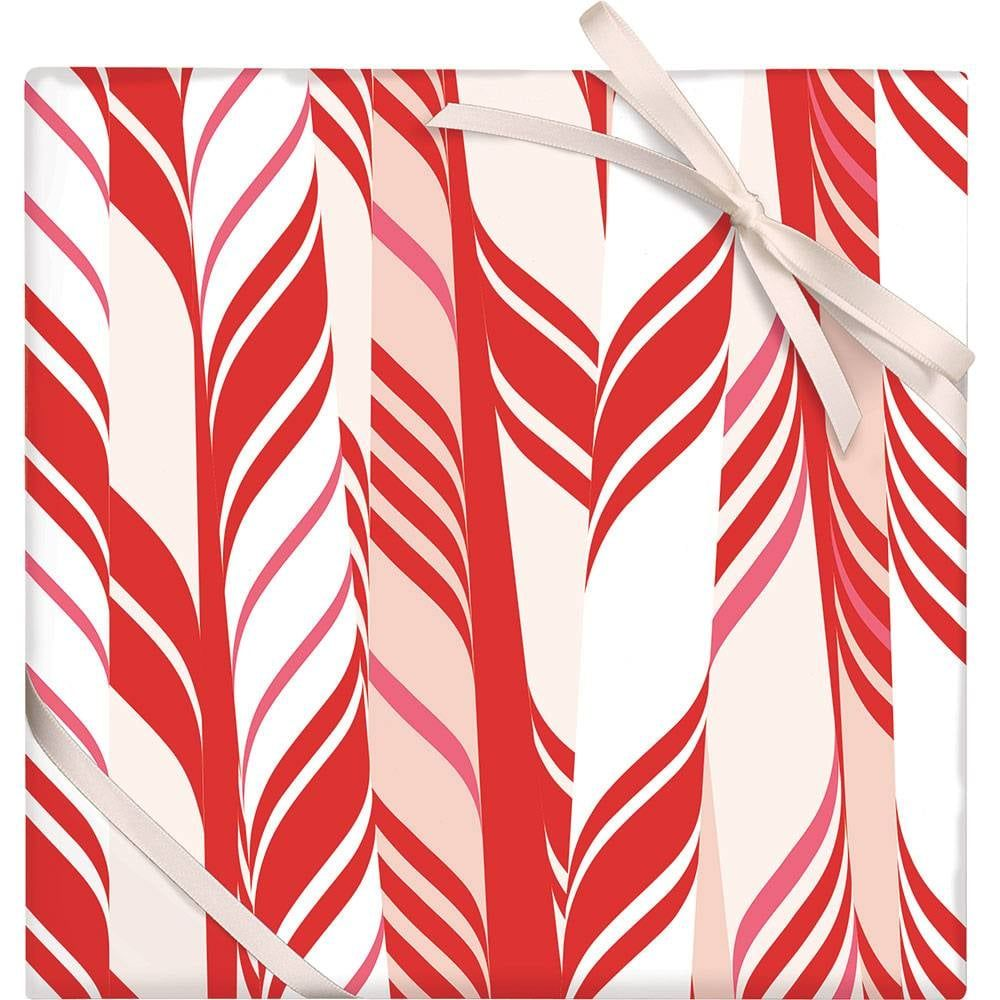 Candy Cane Stripe Wrapping Paper Candy cane stripes