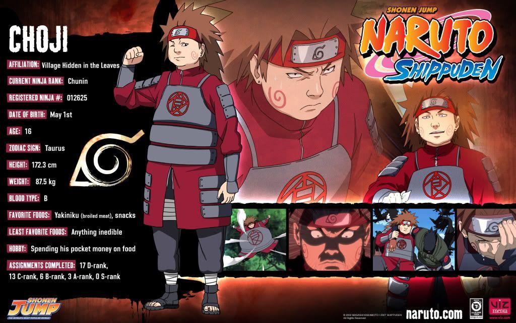 naruto shippuden characters bio short b character bio s b main