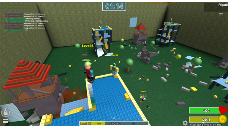 Ripull Minigames Its One Of The Millions Of Unique User - roblox comedy games