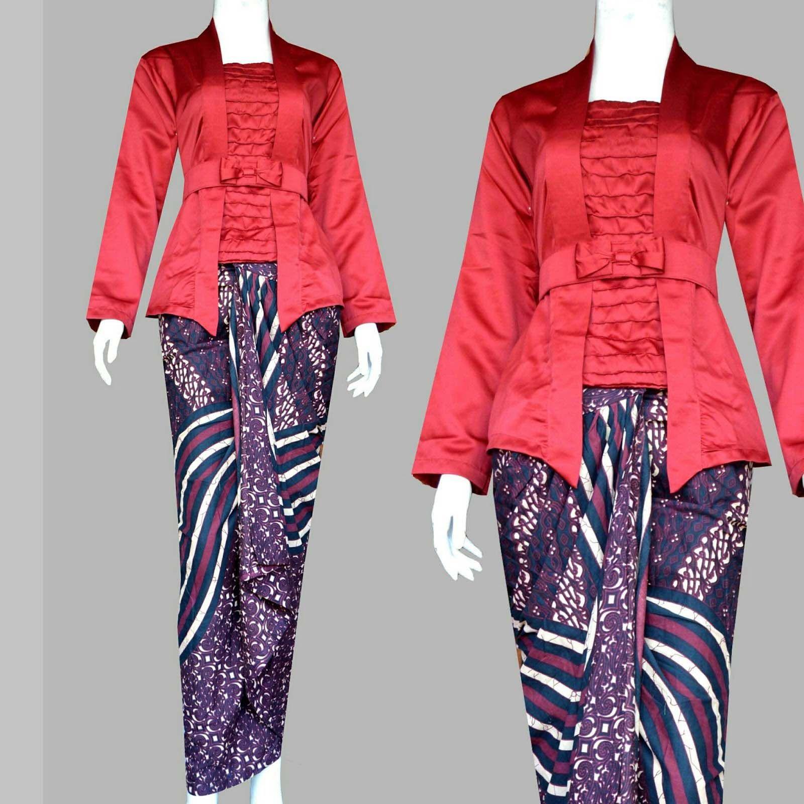 Model Baju Batik Kutu Baru Modern Untuk Wanita  d725443ba3